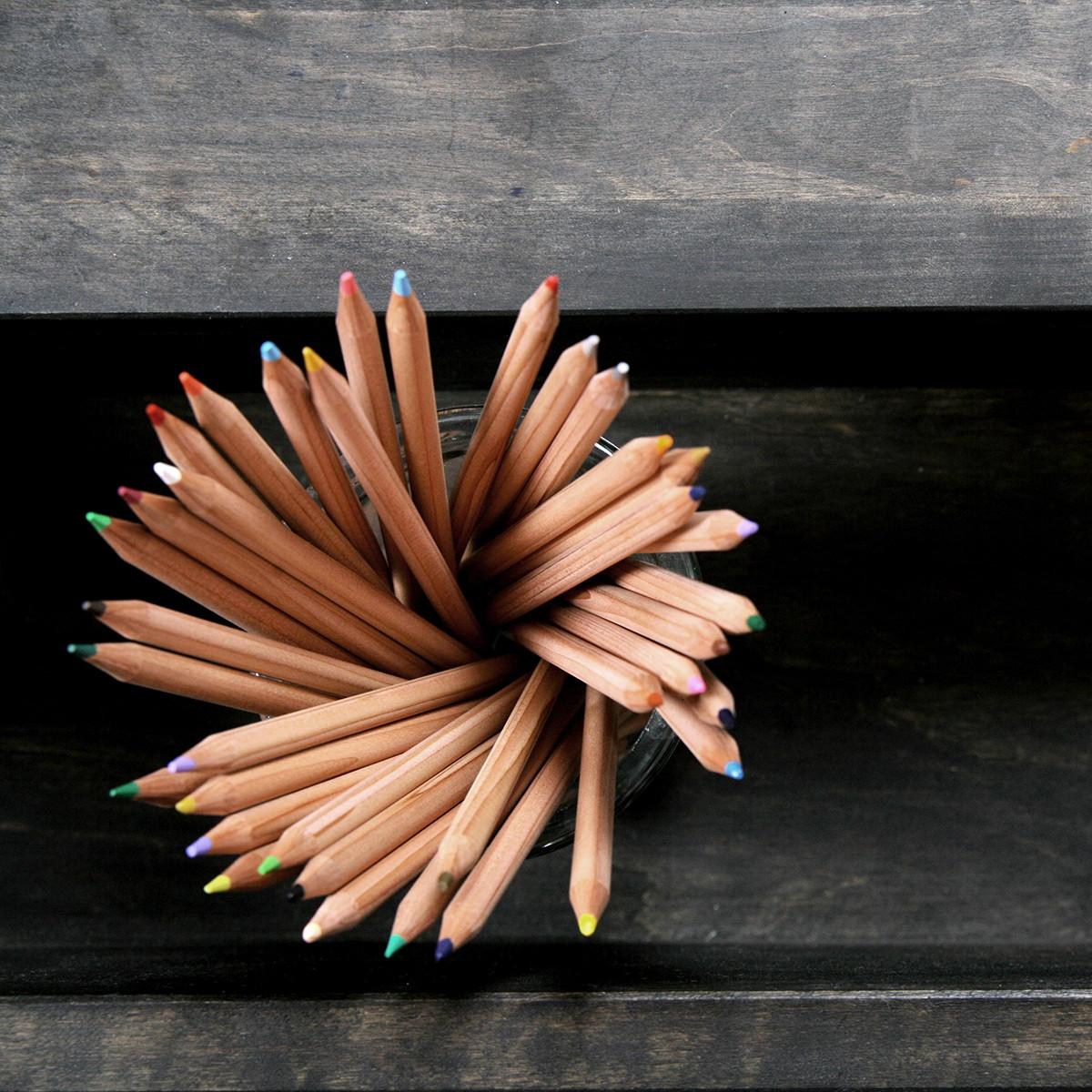 Nonjetable notre projet crayons bureau noir